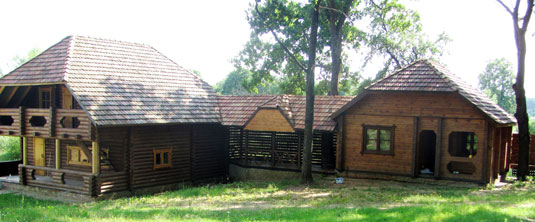 The homestead of Sophia Rusova in Oleshnya village