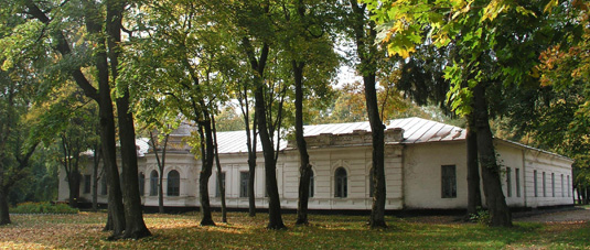 the Lyzogub's estate in Sedniv