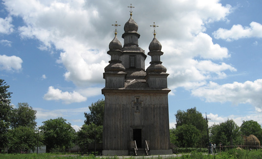 Wooden church of St. George, Sedniv urban village