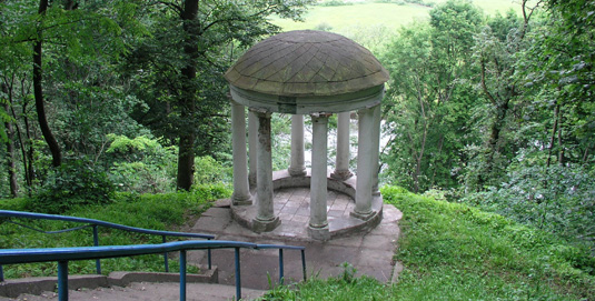 Glibov's rotunda in Sedniv