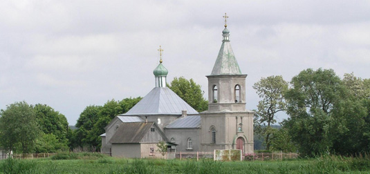 the Assumption church, Sedniv
