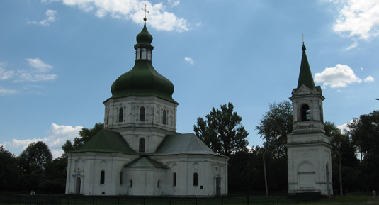 Resurrection church in Sedniv