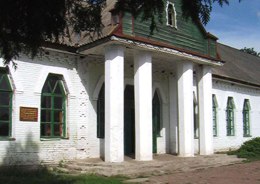 Building of former Zemstvo school