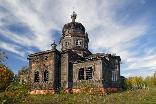 Дерев'яна церква Йоана Предтечі