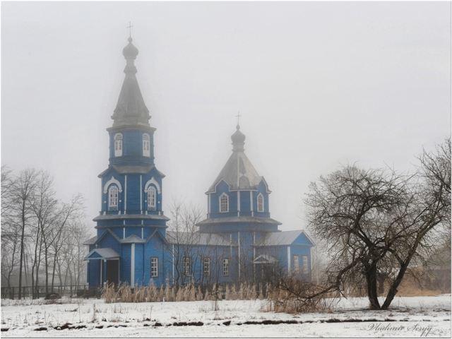 Свято-Покровська церква, с.Олександрівка Корюківського р-ну