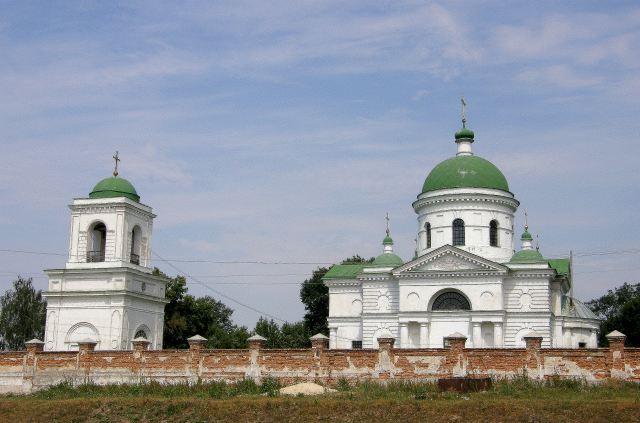 Комплекс Михайлівської церкви, с.Петрівське