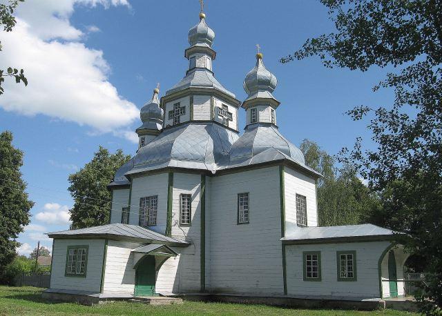 Покровська церква, с.Синявка Менського р-ну